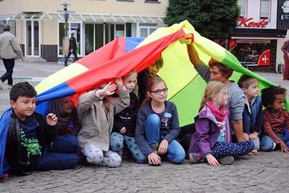 Fest zum Weltkindertag auf dem Schlossplatz Altenkirchen