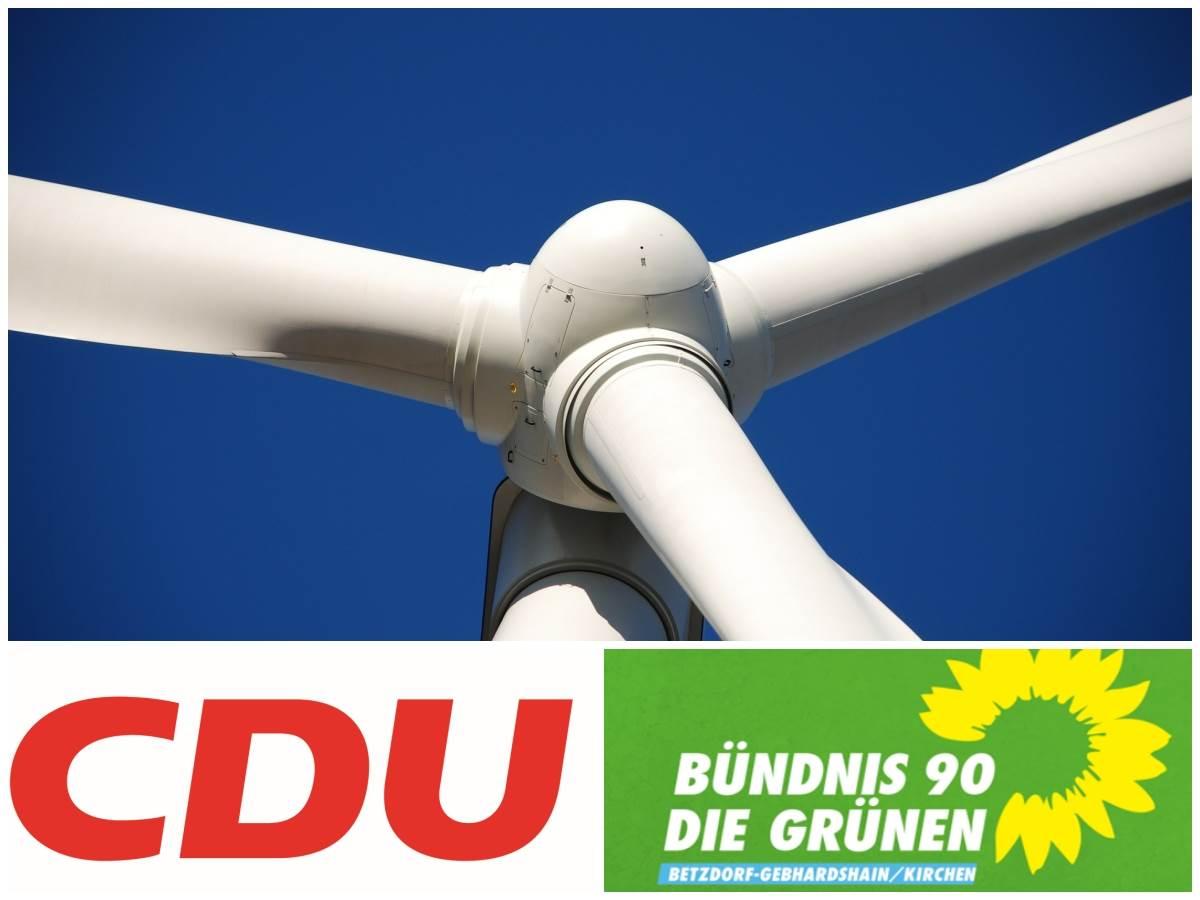 Windkraft in VG Kirchen: CDU und Grüne liefern sich Schlagabtausch