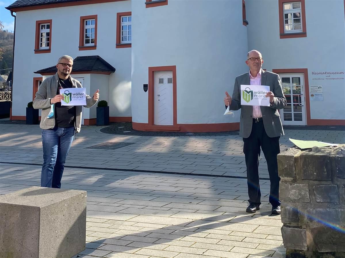 """Unterstützung für den """"Wäller Markt"""" von Wäschenbach"""