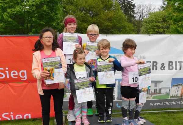 """Für die Kinder waren bei der """"Wokimen""""-Premiere auf der Rundstrecke Läufe über 500, 1.000 und 2.000 Meter vorgesehen. (Foto: wear)"""
