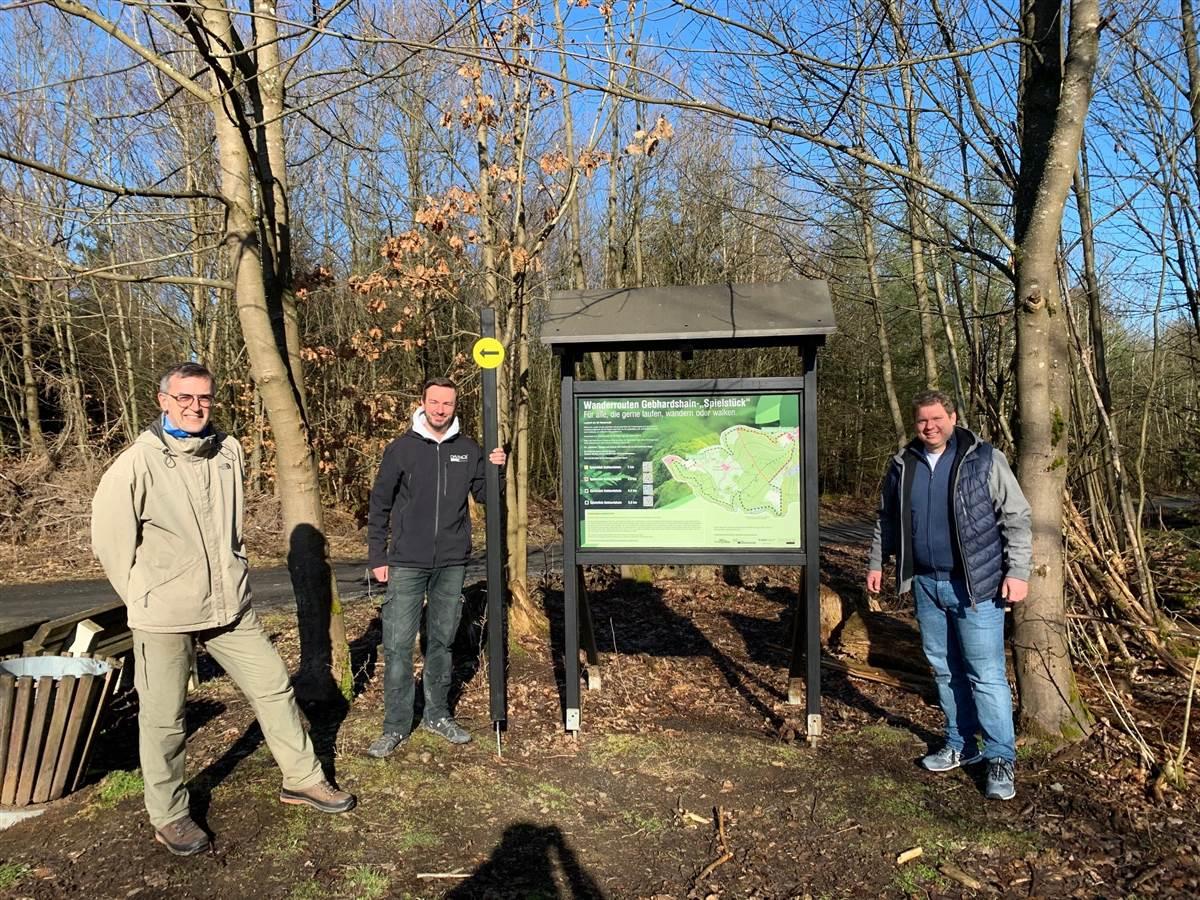 Gebhardshain: FDP und Haubergsgenossenschaft rufen Wanderouten ins Leben