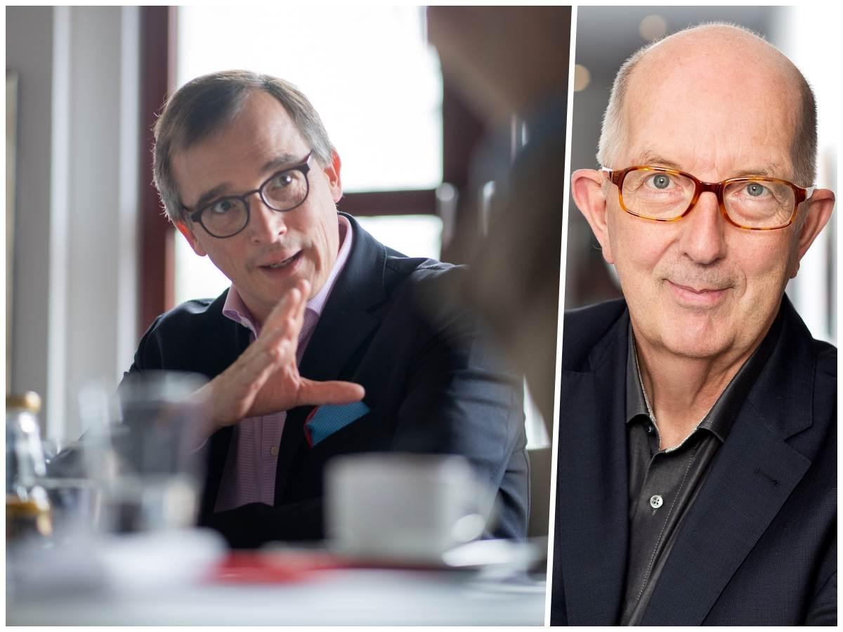 Von links: Professor Andreas Rödder, Michael Wäschenbach (Fotos: Steffen Böttcher, Wahlkreisbüro)