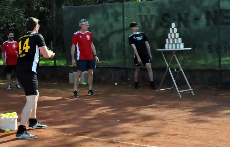 Generationenwechsel bei der WSN-Tennisabteilung