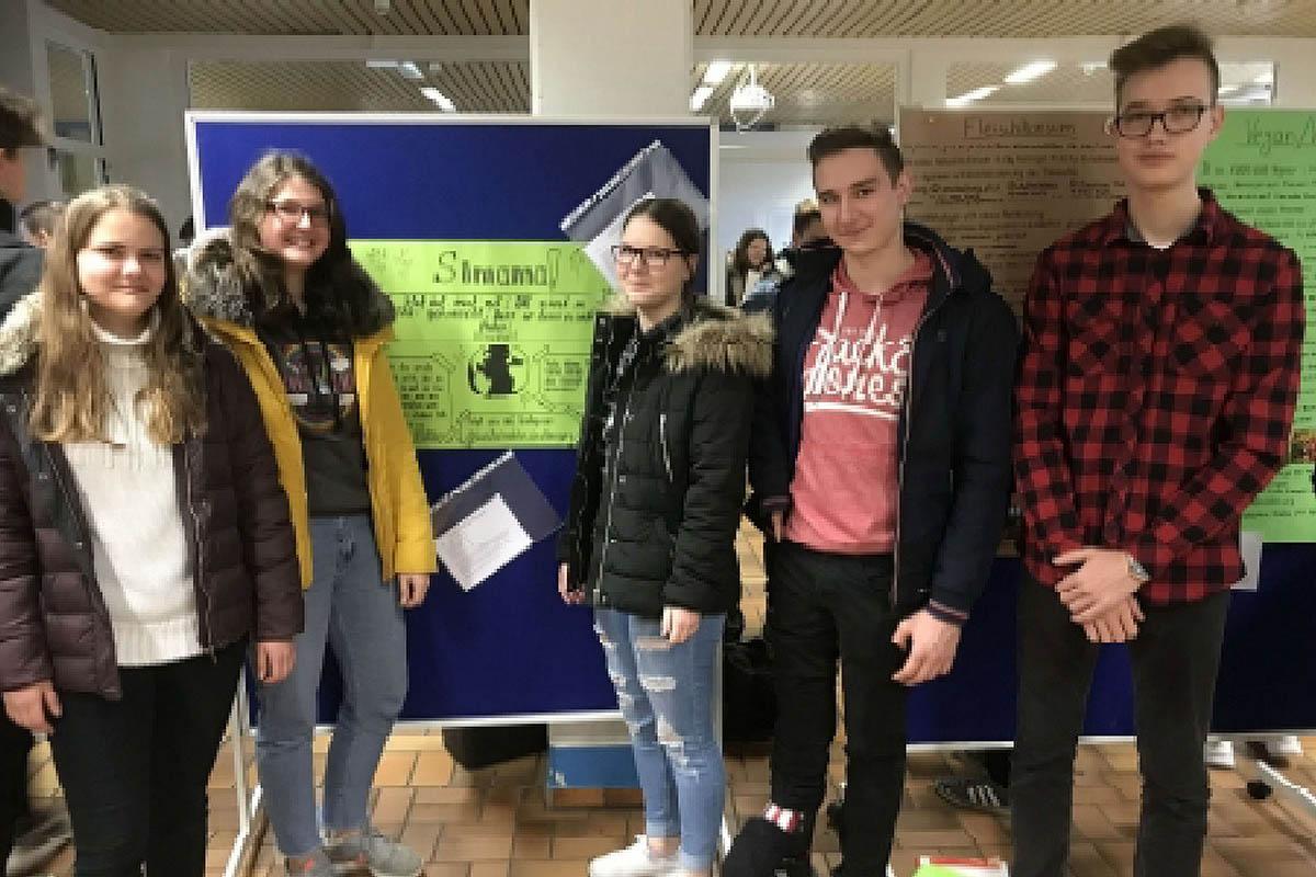WTG-Schüler mit Eine-Welt-Schulpreis ausgezeichnet