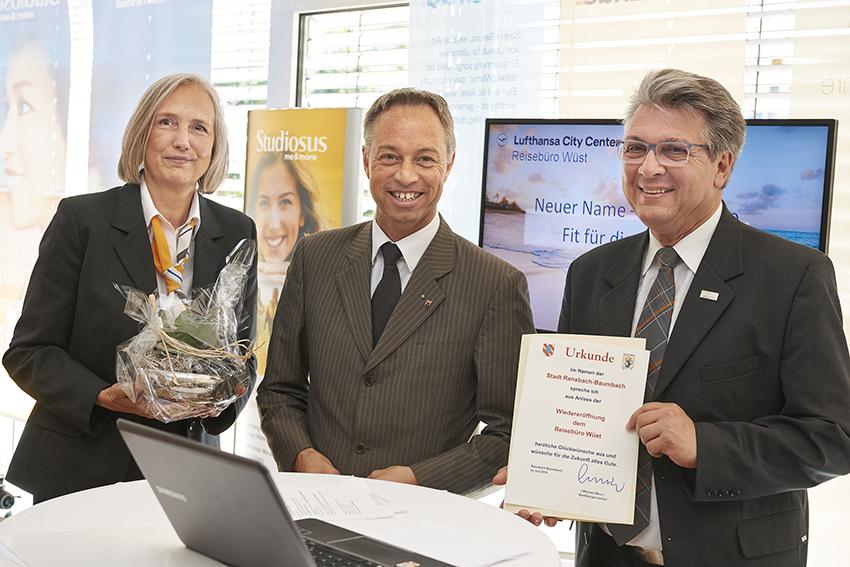 Reisebüro Wüst feiert 40-jähriges Jubiläum