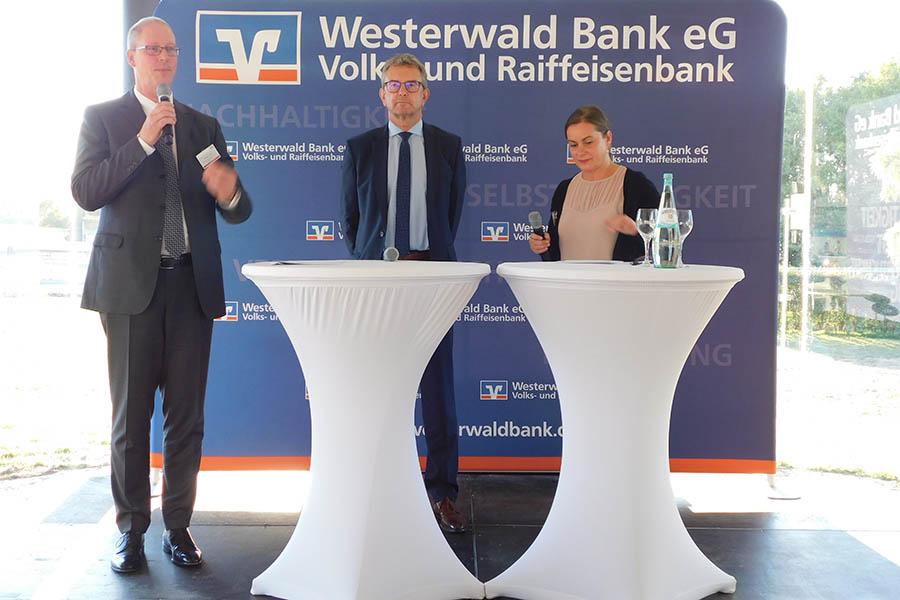 Wirtschaftsempfang mit der Westerwald-Bank und der ISB