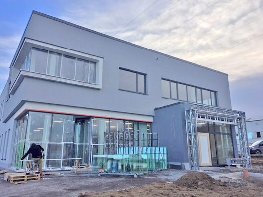 Endspurt für den Neubau der Westerwald Bank in Dierdorf