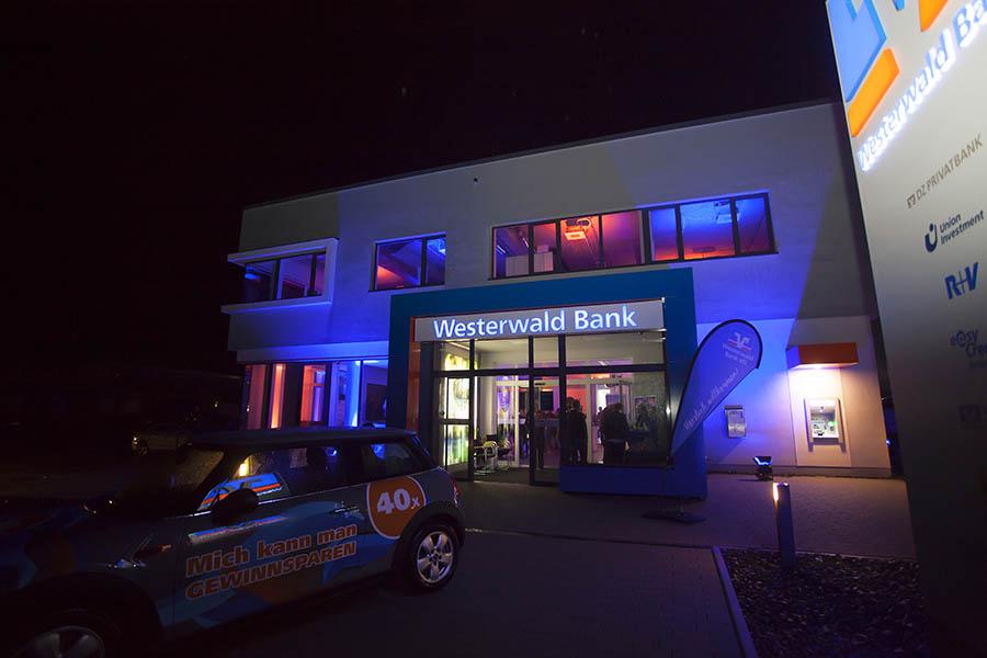 Eröffnung der neuen Westerwald Bank in Dierdorf
