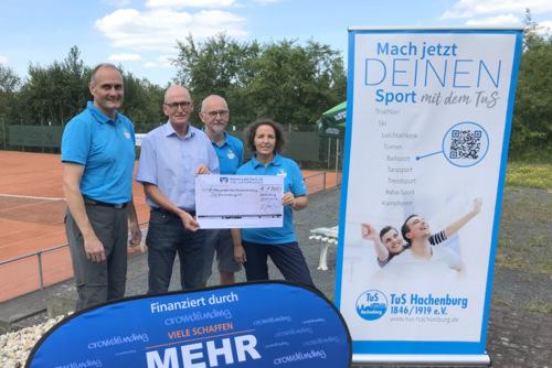 Erfolgreiches Crowdfunding: TuS Hachenburg kann Tennisplätze sanieren