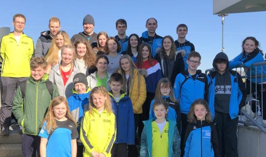 Erneut nahm das Schwimmteam (ST) Daaden-Wissen an der ersten Runde des Westerwald-Cups im Dierdorfer Schwimmbad Aquafit teil. (Foto: SV Neptun Wissen)