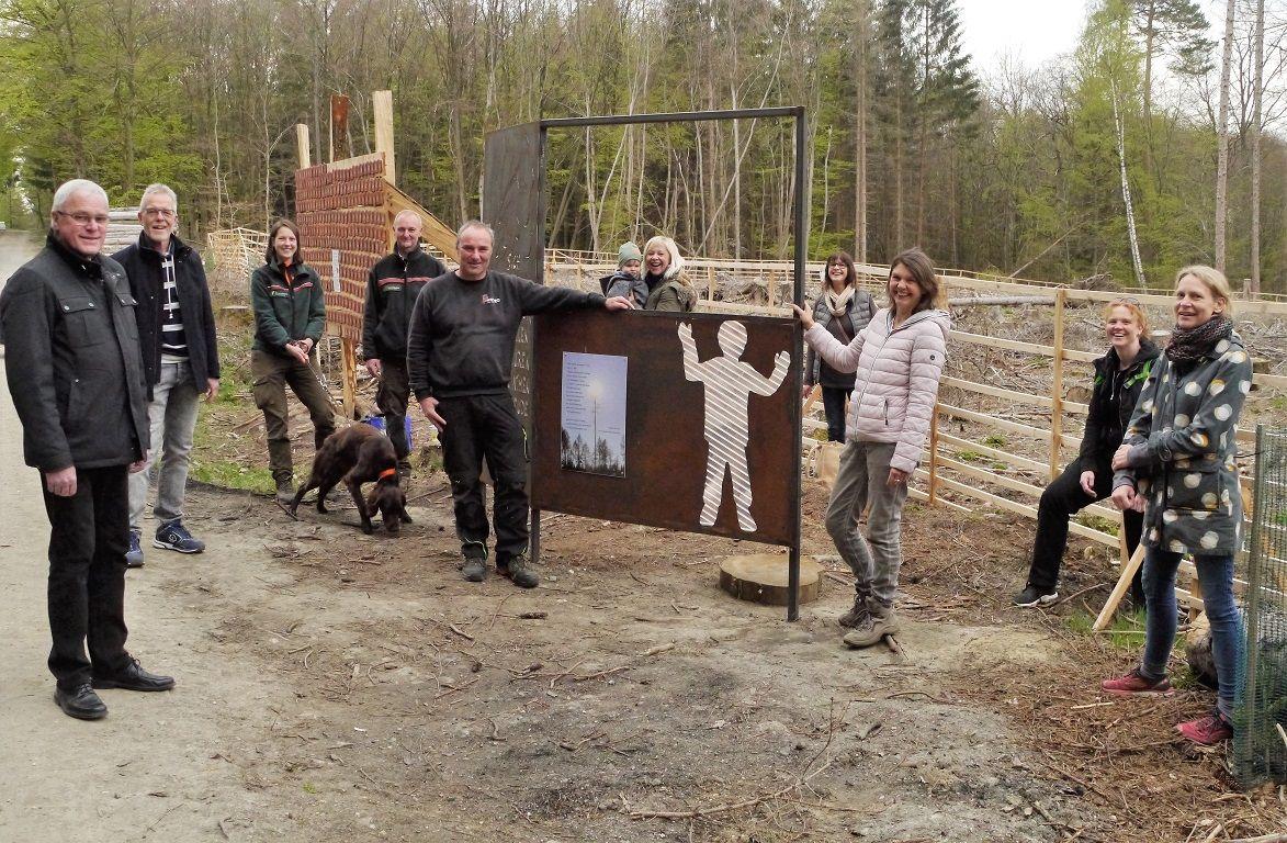 Westerwald-Kinder wollen mit Kunstwerk Impulse geben