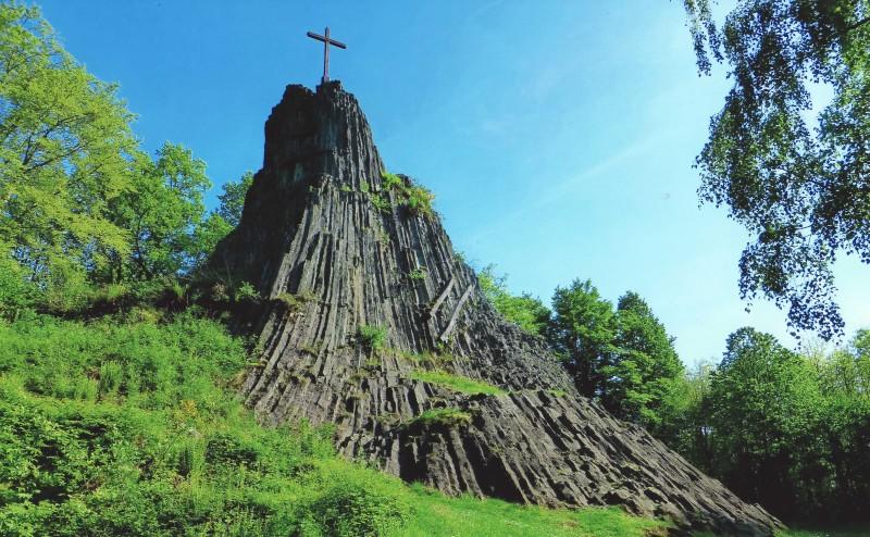 Westerwald-Tipps: Der Druidenstein bei Kirchen (Sieg)