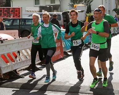 TuS Horhausen mit Ergebnissen Staffelmarathon zufrieden