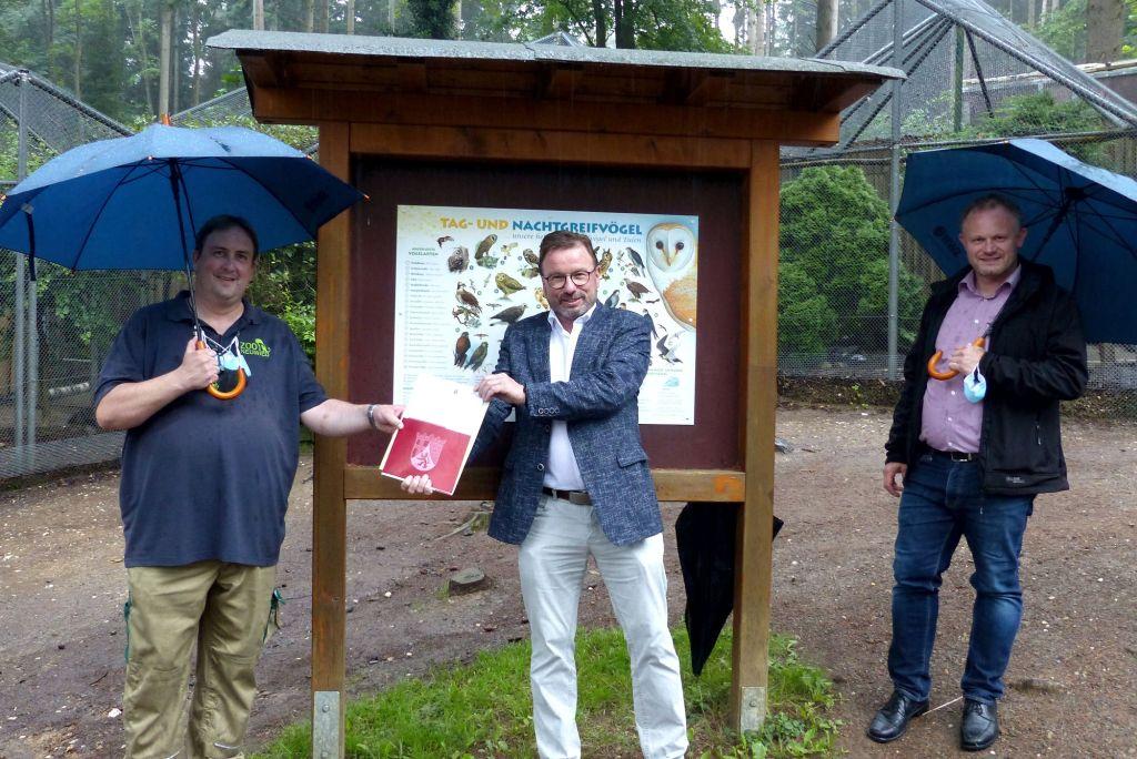 Fördermittel für Auffangstation des Zoos in Neuwied